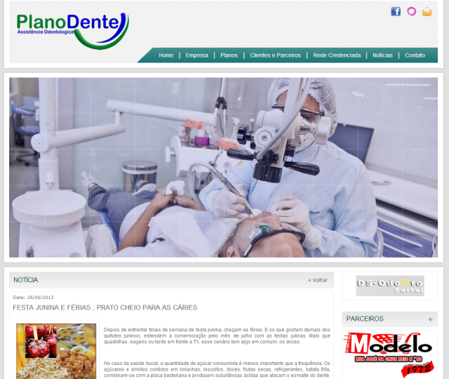 Dra. Chris Vitola no Plano Dente - Festa junina e férias; prato cheio para cáries
